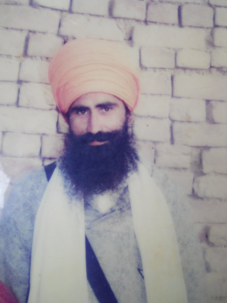 Photo of Bachan Singh,  disappeared between March 1, 1993 and March 31,  1993, in Mehta,  by Punjab Police