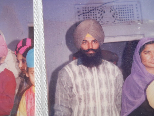 Photo of Harpal Singh, victim of extrajudicial execution on July 21, 1993, in Dhilwan, by Punjab Police