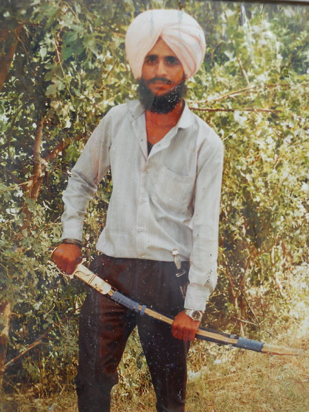 Photo of Dalbir Singh, victim of extrajudicial execution between January 1, 1993 and December 31,  1993, in Batala, by Punjab Police