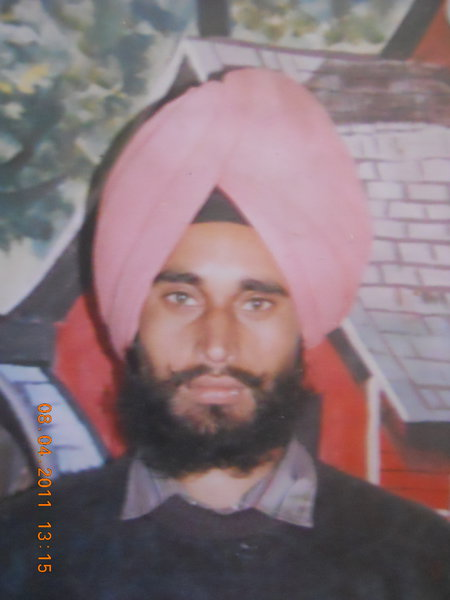 Photo of Makhan Singh, victim of extrajudicial execution between August 15, 1991 and September 15,  1991Punjab Police