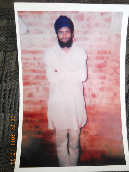 Photo of Sulinder Singh, victim of extrajudicial execution on May 23, 1993, in Sri Hargobindpur, by Punjab Police