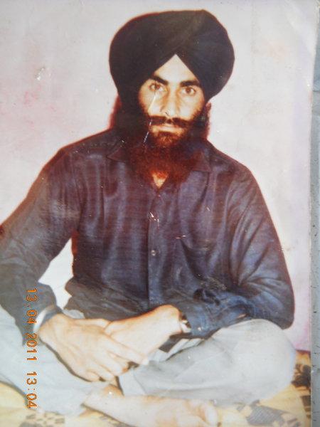 Photo of Balwinder Singh, victim of extrajudicial execution on January 13, 1991Punjab Police