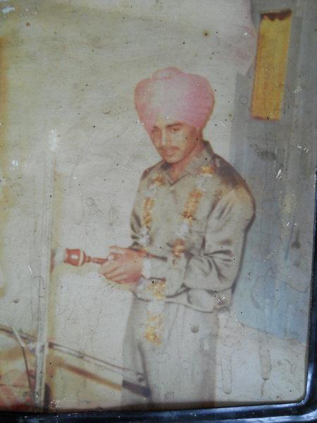 Photo of Rajwinder Singh, victim of extrajudicial execution on June 28, 1993Punjab Police