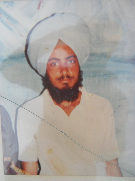 Photo of Pritam Singh, victim of extrajudicial execution, date unknown, in Batala,  by Punjab Police; Border Security ForceUnknown type of security forces