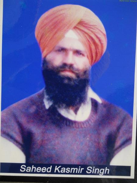 Photo of Kashmir Singh, victim of extrajudicial execution on March 17, 1993, in Gurdaspur, Dorangla, by Punjab Police
