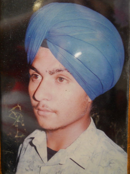 Photo of Sukhdev Singh, victim of extrajudicial execution on May 29, 1991, in Batala, by Punjab Police