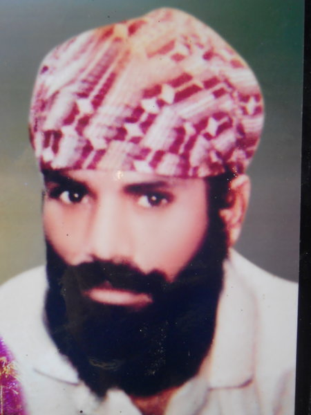 Photo of Amarjeet Singh, victim of extrajudicial execution on April 24, 1991, in Batala, by Punjab Police