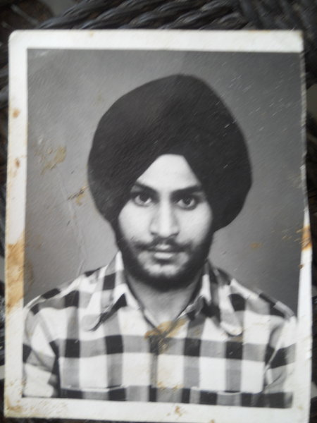 Photo of Daljit Singh, victim of extrajudicial execution on September 5, 1987, in Batala,  by Punjab Police; Border Security Force, in Batala, by Punjab Police