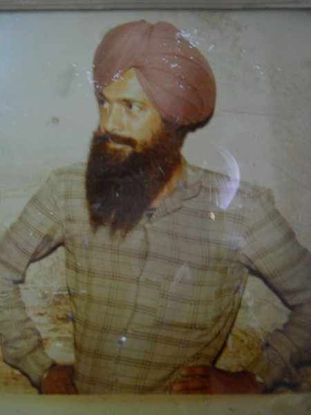 Photo of Jasbir Singh, victim of extrajudicial execution on June 30, 1991, in Dhariwal, by Punjab Police