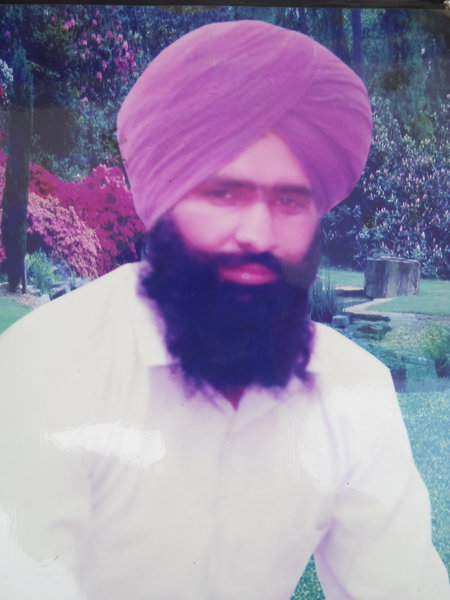 Photo of Baldev Singh,  disappeared on April 19, 1989, in Batala,  by Punjab Police