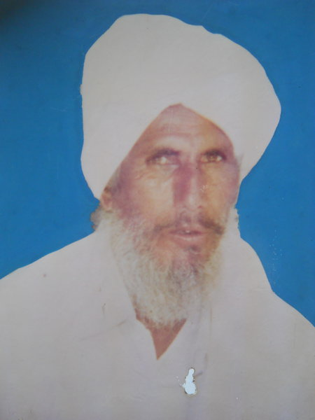 Photo of Makhan Singh, victim of extrajudicial execution between February 1, 1993 and February 28,  1993, in Batala, by Punjab Police