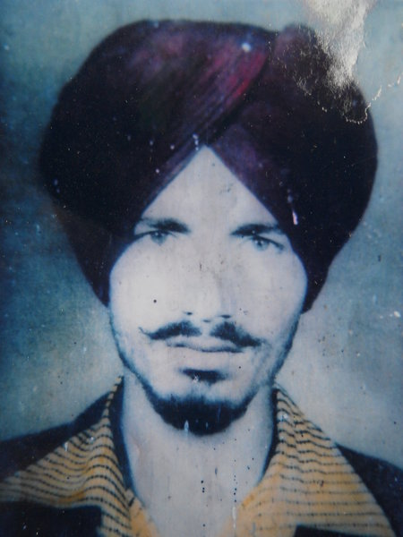 Photo of Heera Singh, victim of extrajudicial execution on July 03, 1984, in Gurdaspur, by Punjab Police