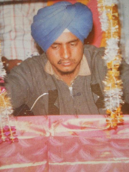 Photo of Jasbir Singh, victim of extrajudicial execution on November 25, 1991, in Kalanaur, by Punjab Police