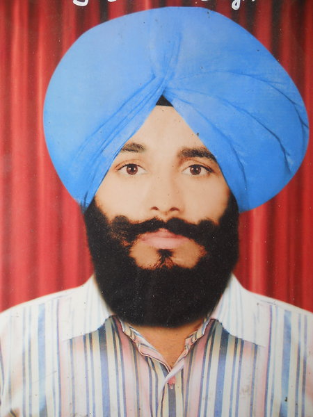 Photo of Davinder Singh, victim of extrajudicial execution on July 02, 1988, in Batala,  by Punjab Police; Border Security Force, in Batala, by Punjab Police