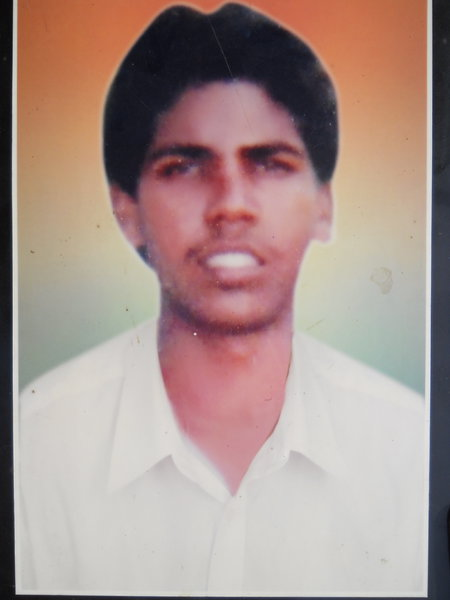 Photo of Pargat Maseeh, victim of extrajudicial execution on December 30, 1992, in Gurdaspur, by Punjab Police