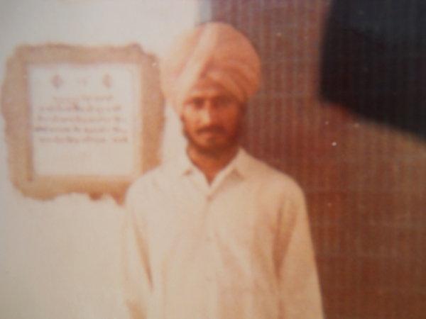 Photo of Jaswant Singh, victim of extrajudicial execution on July 13, 1991, in Amaria, Bilsanda, Niuria, Pilibhit, Puranpur