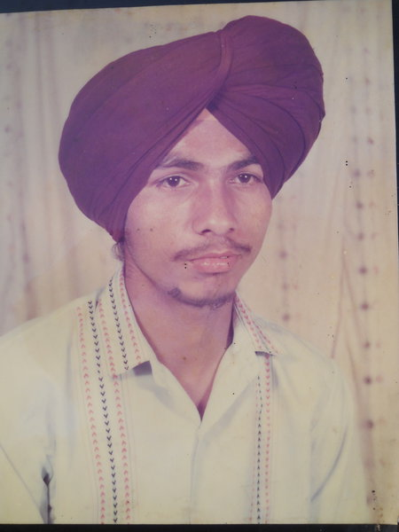Photo of Ranjot Singh, victim of extrajudicial execution on November 09, 1990, in Dhariwal, Gurdaspur, by Punjab Police