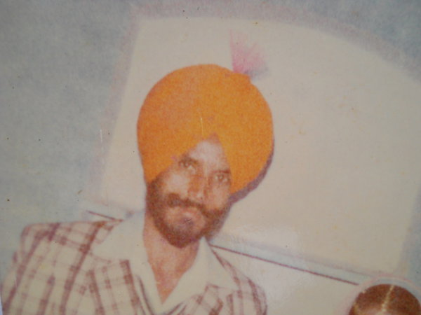 Photo of Ajit Singh, victim of extrajudicial execution on December 12, 1988, in Dasua, by Punjab Police