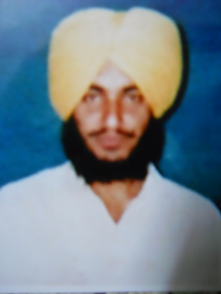 Photo of Sukhdev Singh, victim of extrajudicial execution between December 7, 1992 and December 15,  1993Unknown type of security forces