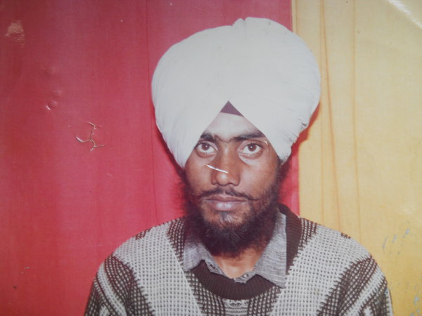 Photo of Heera Singh, victim of extrajudicial execution on May 09, 1992, in Dhariwal, by Punjab Police
