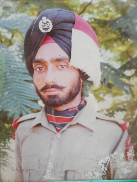 Photo of Gurdip Singh, victim of extrajudicial execution on March 21, 1991, in Pathankot, by Punjab Police