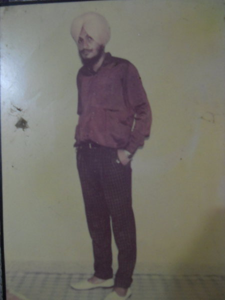 Photo of Amarjit Singh, victim of extrajudicial execution on April 07, 1992, in Kahnuwan,  by Criminal Investigation Agency, in Kahnuwan, by Criminal Investigation Agency