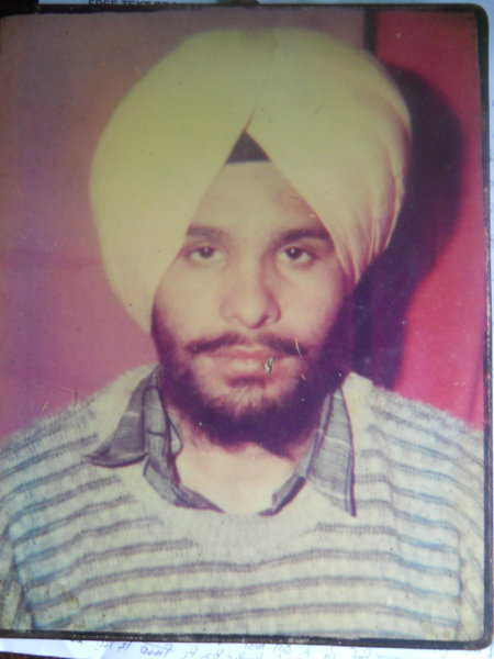 Photo of Gurdial Singh, victim of extrajudicial execution between May 29, 1993 and May 30,  1993, in Qadian, by Punjab Police