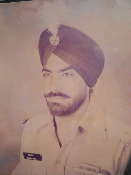 Photo of Gurmeet Singh, victim of extrajudicial execution on June 6, 1984Punjab Police