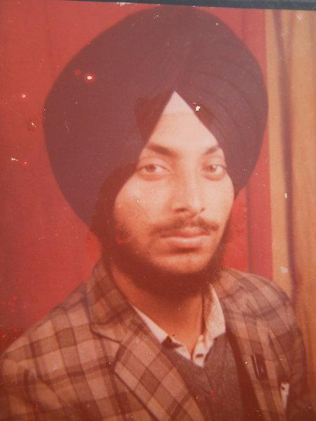 Photo of Gurmej Singh, victim of extrajudicial execution on January 31, 1991, in Batala, by Punjab Police