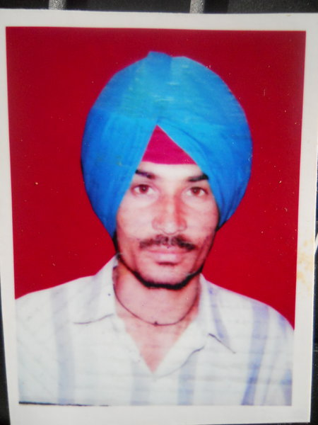 Photo of Ajit Singh, victim of extrajudicial execution between August 1, 1984 and August 30,  1984, in Batala, Fatehgarh Churian, by Punjab Police