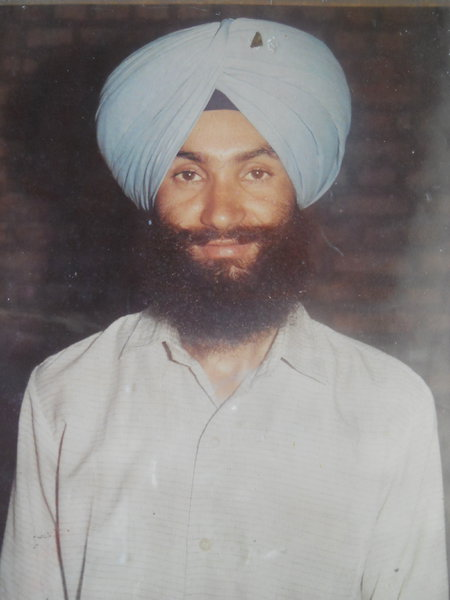 Photo of Kashmir Singh, victim of extrajudicial execution on February 09, 1989, in Gurdaspur, by Punjab Police