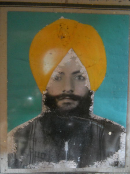 Photo of Gurmukh Singh, victim of extrajudicial execution between October 1, 1987 and October 31,  1987, in Amritsar,  by Central Reserve Police Force