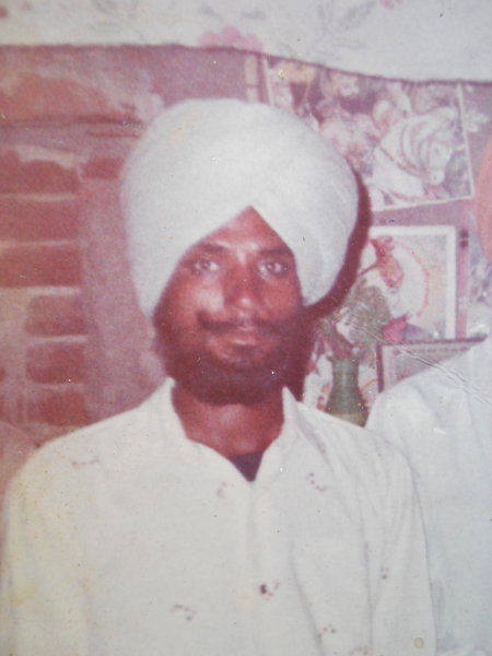 Photo of Balwant Singh, victim of extrajudicial execution on February 26, 1991, in Dhapai, Qadian, by Punjab Police; Central Reserve Police Force