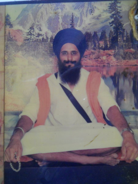 Photo of Nirvair Singh, victim of extrajudicial execution on November 24, 1987, in Amritsar, by Punjab Police; Central Reserve Police Force; Black cat