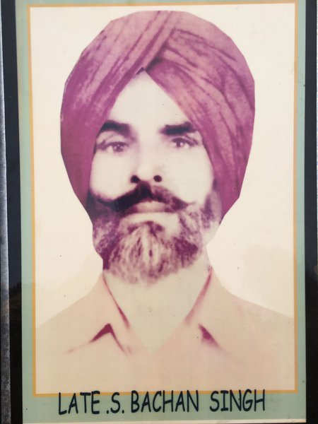 Photo of Gurbachan Singh, victim of extrajudicial execution between January 1, 1986 and January 1,  1987 by Border Security ForceBorder Security Force