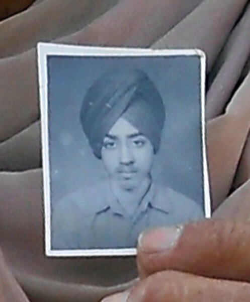 Photo of Gurnam Singh,  disappeared, date unknown, in Chaudhriwala, Amritsar,  by Punjab Police; Black cat