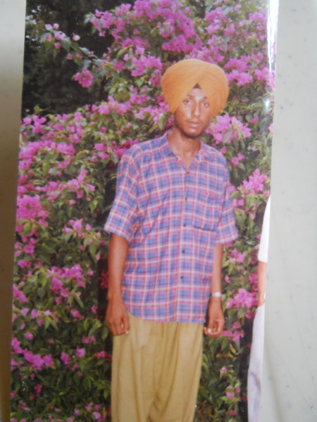 Photo of Rajwant Singh, victim of extrajudicial execution between May 1, 1993 and May 30,  1993, in Ludhiana, by Punjab Police