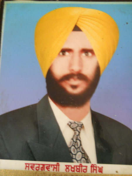 Photo of Lakhbir Singh, victim of extrajudicial execution on December 25, 1984, in Dera Baba Nanak, by Border Security Force