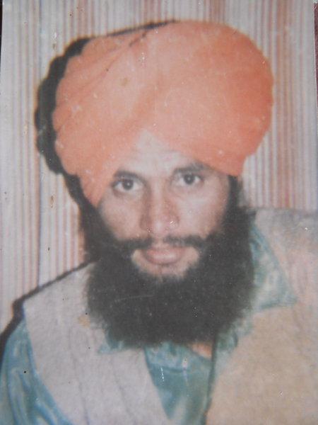 Photo of Kuljit Singh, victim of extrajudicial execution on June 03, 1993, in Raja Sansi, by Punjab Police