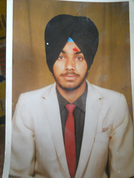Photo of Rajinder Singh, victim of extrajudicial execution between February 1, 1993 and March 31,  1993, in Batala, by Punjab Police