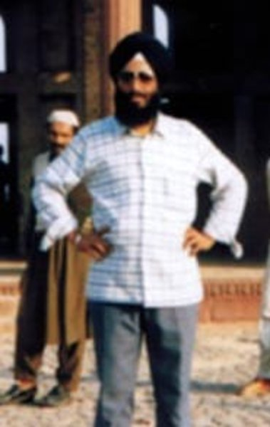 Photo of Gurnam Singh, victim of extrajudicial execution on January 22, 1989, in Batala,  by Punjab Police; Border Security Force, in Batala, by Punjab Police