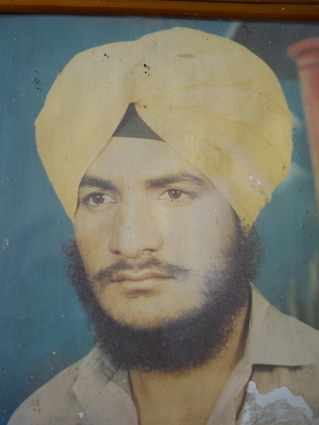 Photo of Amarjit Singh, victim of extrajudicial execution, date unknown, in Chamyari Army Camp,  by ArmyUnknown type of security forces