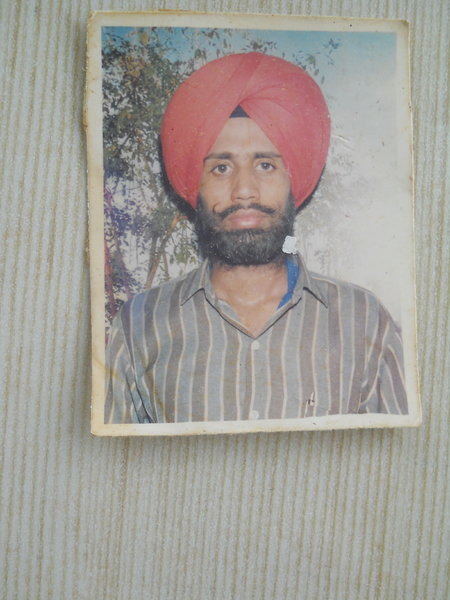 Photo of Ranjeet Singh, victim of extrajudicial execution on October 01, 1991, in Jandiala, by Punjab Police