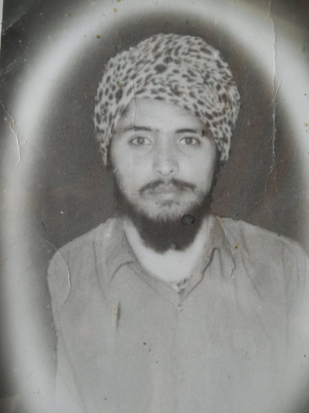 Photo of Lakhwinder Singh, victim of extrajudicial execution on April 25, 1989, in Batala, by Punjab Police