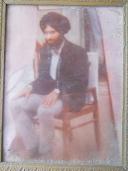 Photo of Nishan Singh, victim of extrajudicial execution on July 4, 1988, in Batala, Kala Afgana CRPF Camp, by Punjab Police; Central Reserve Police Force