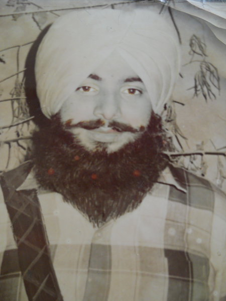 Photo of Daljit Singh, victim of extrajudicial execution, date unknown