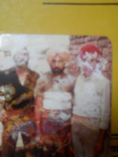 Photo of Balwinder Singh, victim of extrajudicial execution between April 20, 1993 and April 22,  1993, in Ludhiana, by Punjab Police