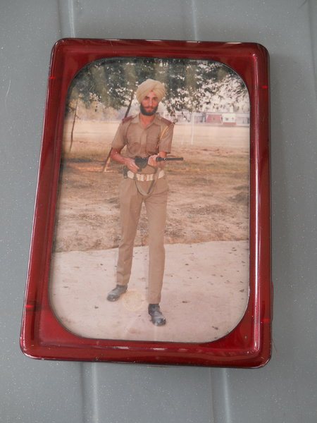 Photo of Sukhdev Singh, victim of extrajudicial execution between July 1, 1991 and July 31,  1991, in Ludhiana, Khamanon, by Punjab Police