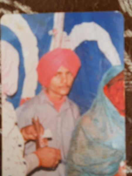 Photo of Hardeep Singh, victim of extrajudicial execution between March 18, 1991 and March 20,  1991, in Dera Baba Nanak,  by Border Security Force, in Dera Baba Nanak, by Border Security Force