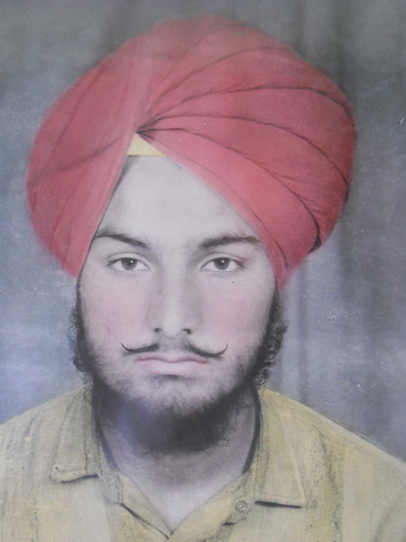 Photo of Navroop Singh Malli, victim of extrajudicial execution on May 18, 1989, in Nakodar, by Punjab Police